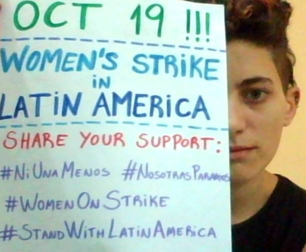 OCT 19: SUPPORT WOMEN'S STRIKE IN LATIN AMERICA