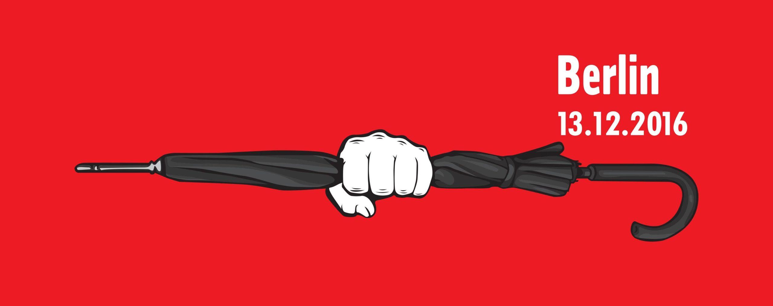 13.12.2016 Strajk Obywatelski Bürgerstreik – Solidarität mit Polen