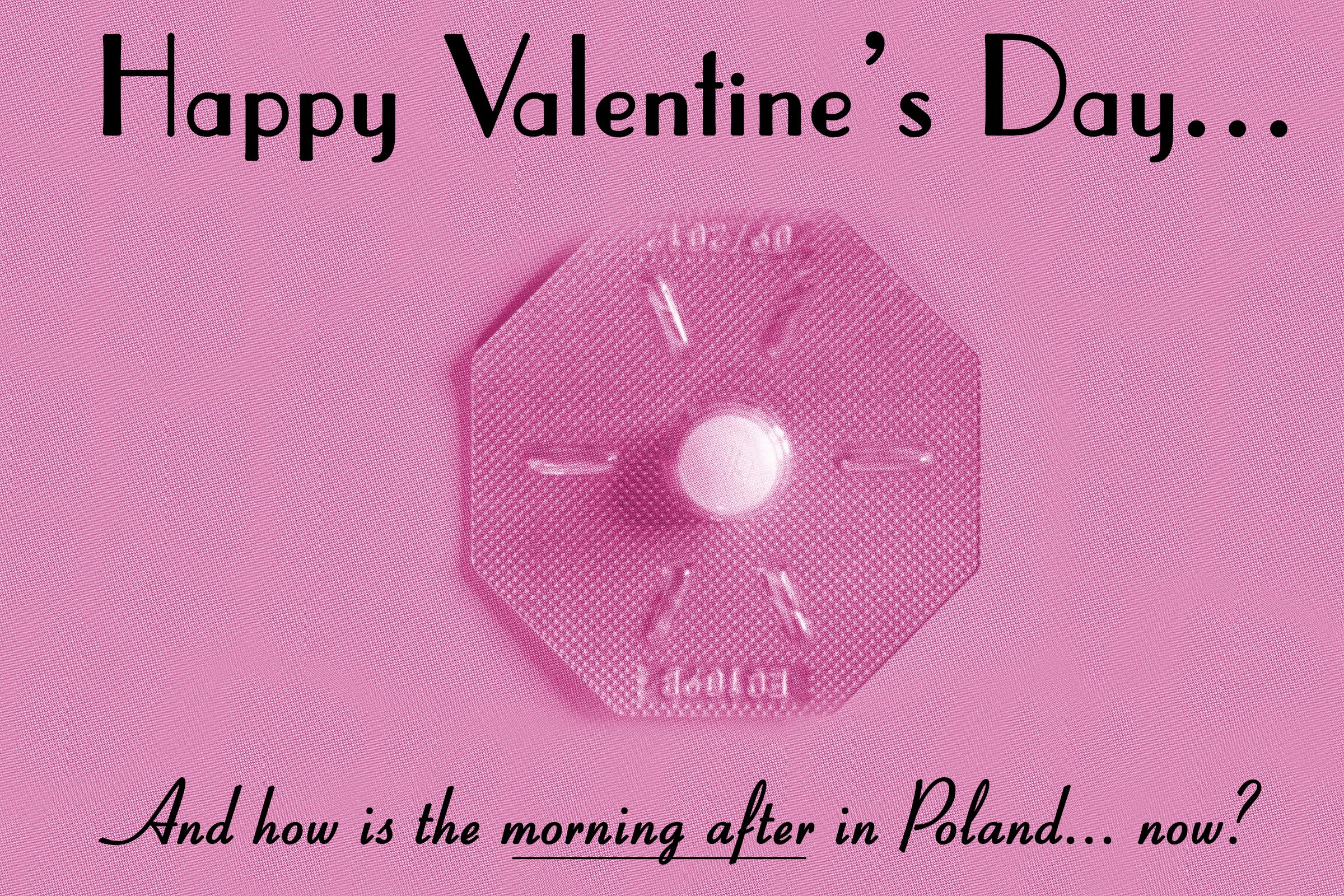 Valentine's Day Gift from the Polish government.