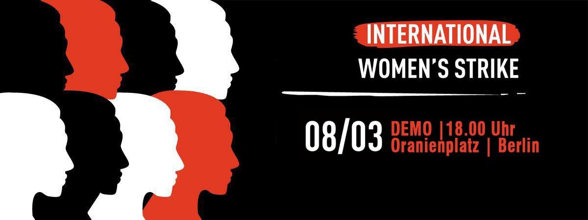International Women's Strike – 8 March 2017 – PRESSE