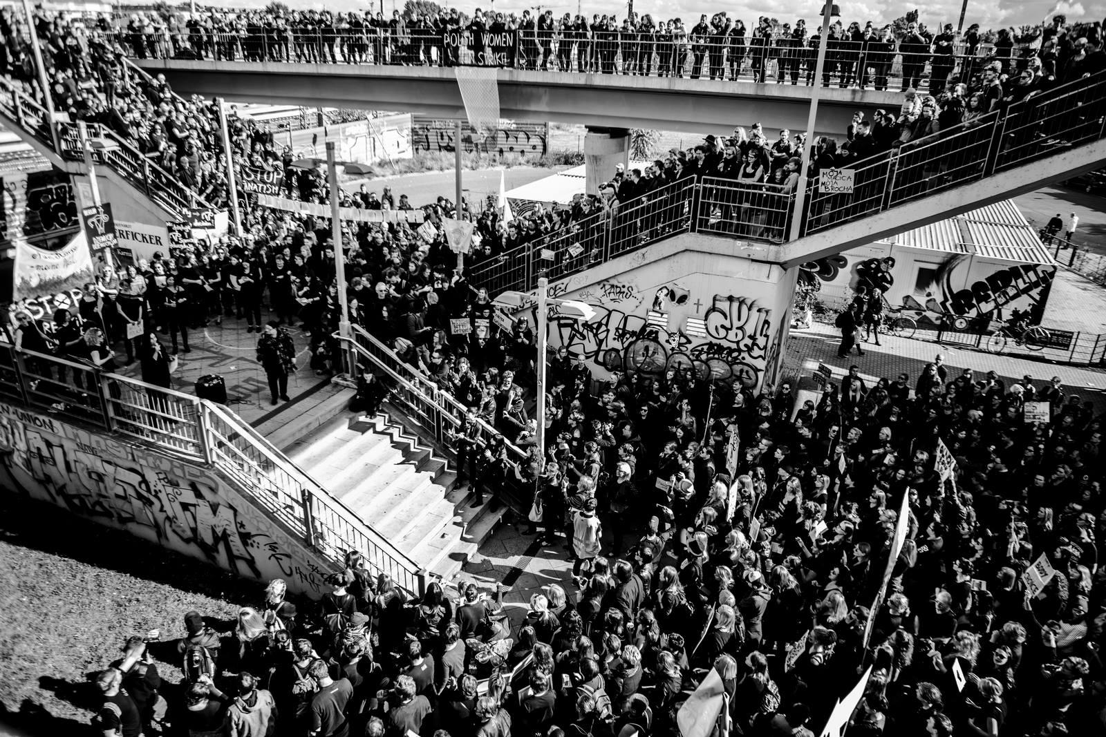 Czarny Poniedziałek, 3.10.2016, Scena i widownia, Foto: Maciej Soja