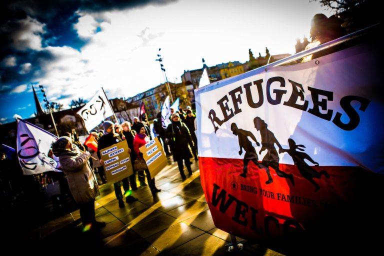 Dziewuchy aus Berlin und Stettin zur Lage der Geflüchteten