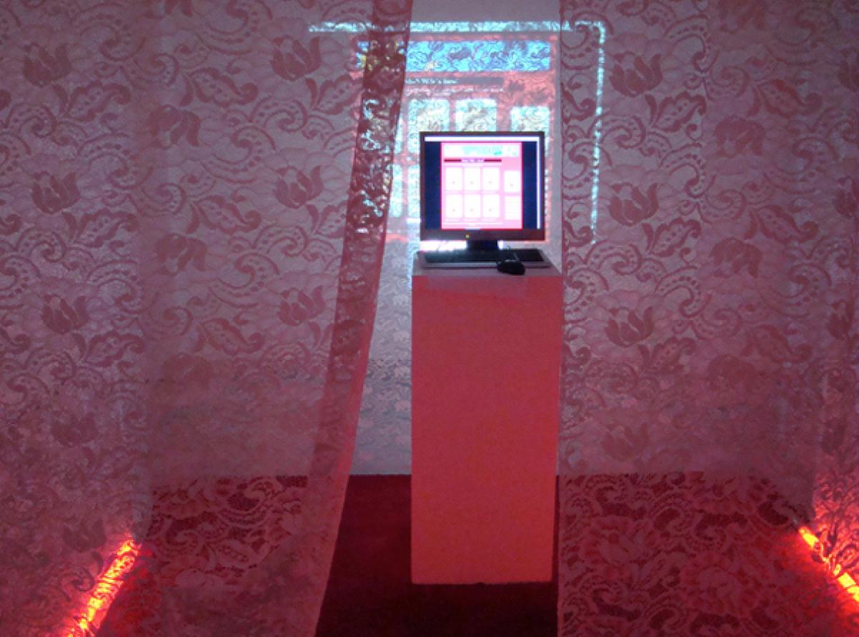 "Instalacja ""Polish Wife"", Kunstraum Kreuzberg, 2008"