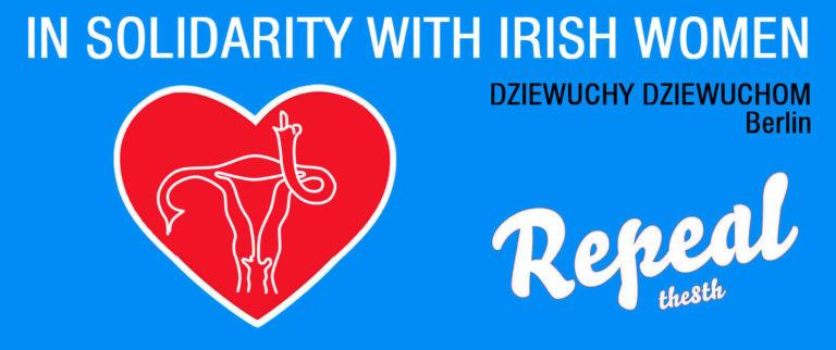 Solidarnie z Irlandkami