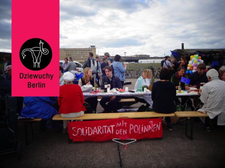 Dziewuchy Berlin am Tag der offenen Gesellschaft | 16.06.2018