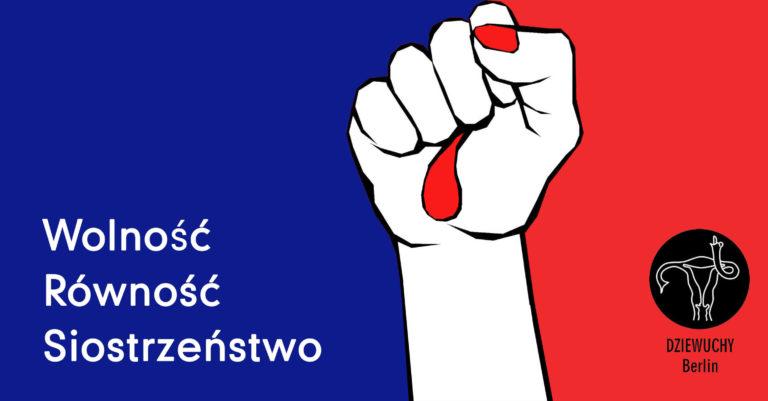 Solidarnie z kobietami z Francji