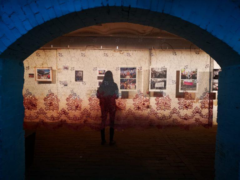 """Dziewuchy Berlin @ """"Bewegende Zeiten"""" Ausstellung"""