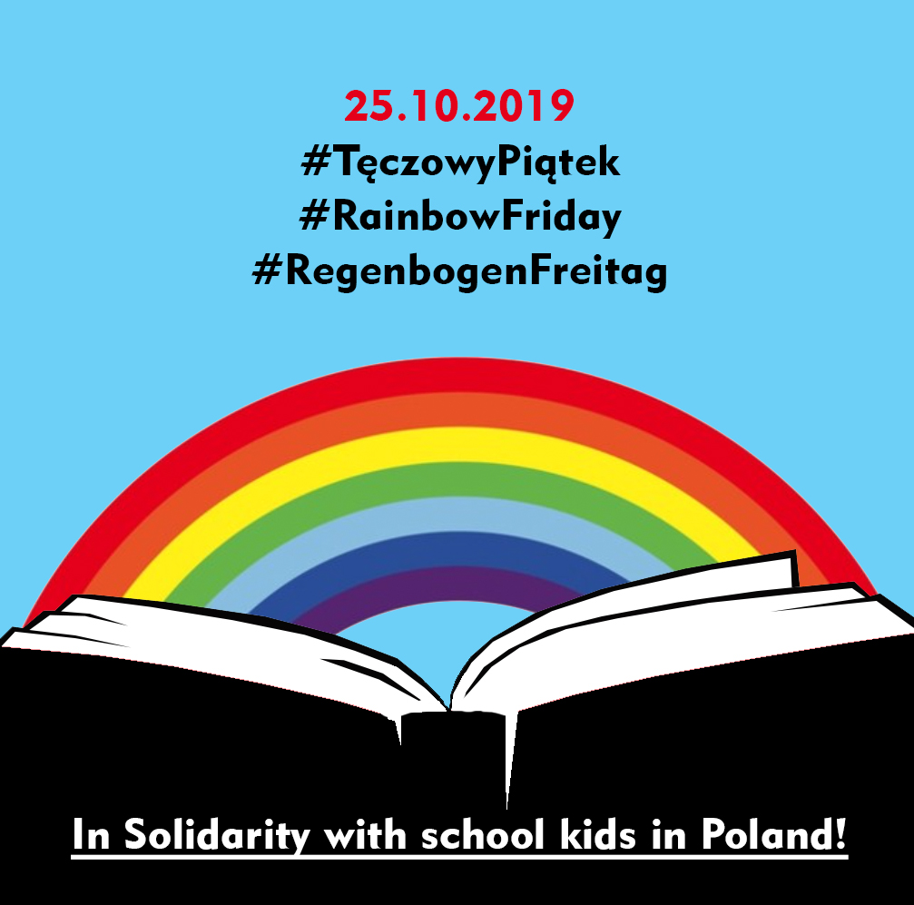 Solidarity with Polish LGBTQ youth Tęczowy Piątek / Action