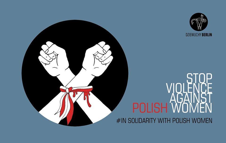 24.7.2020 Soli Demo – No to the legalisation of domestic violence in Poland / Nie dla legalizacji przemocy domowej