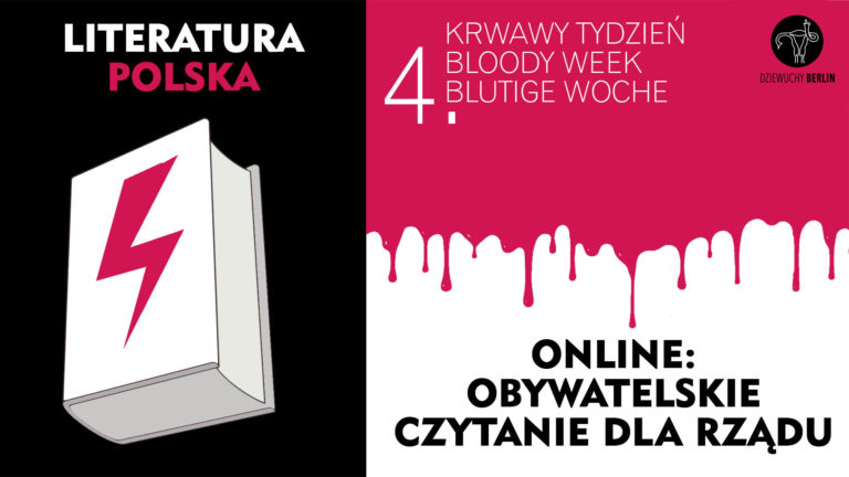 4th Bloody Week: Literature reading for the Polish government