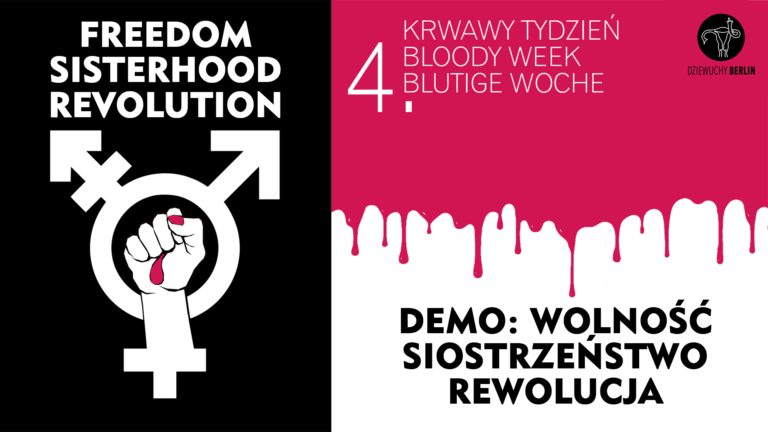 19.11.2020 DEMO: FREEDOM, SISTERHOOD, REVOLUTION