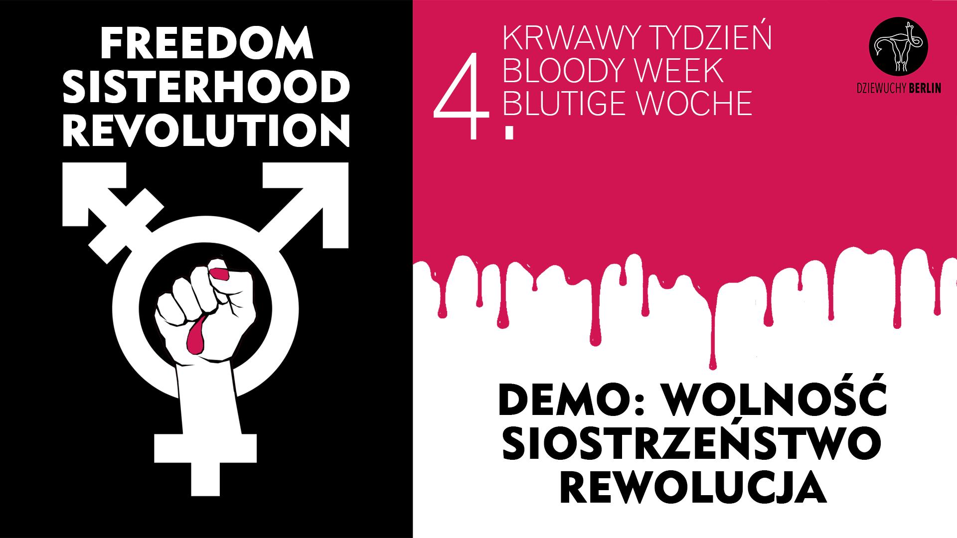 19.11.2020 DEMO: FREEDOM, SISTERHOOD, REVOLUTION