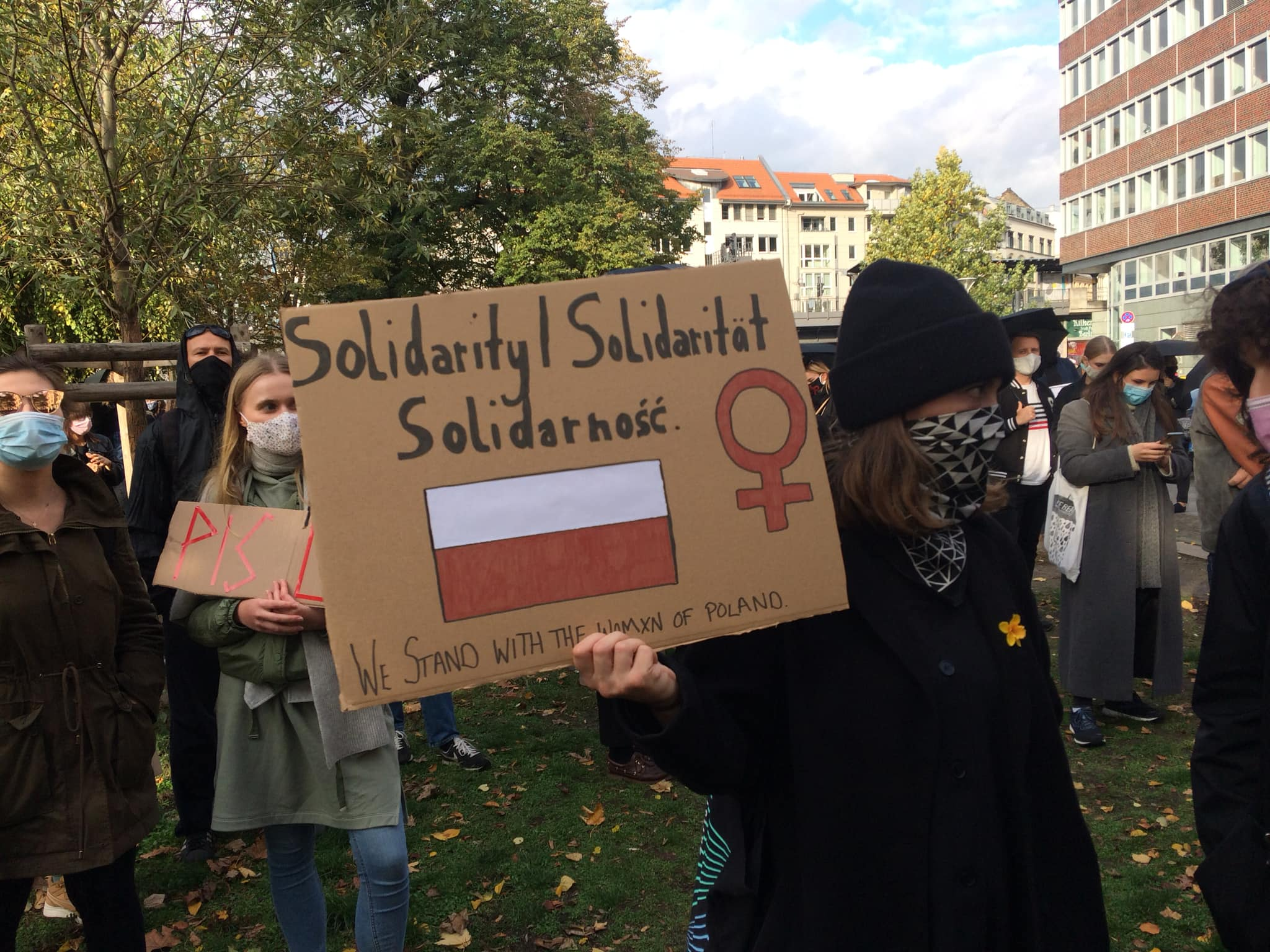 24.10.2020 Pro Choice Rally Against Abortion Ban in Poland!
