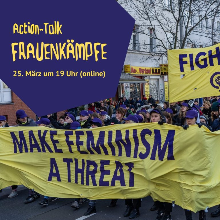 25.3.2021 BUNDjugend Berlin: Action-Talk des A-Teams mit uA Dziewuchy Berlin