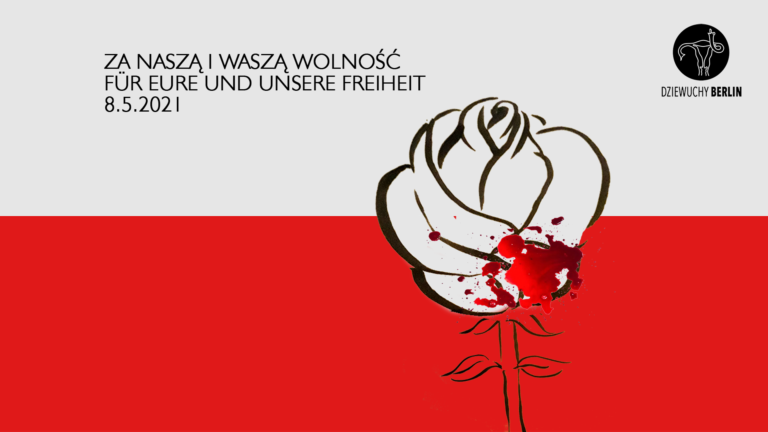 8.5.2021 Nie wieder Krieg! Nie wieder Faschismus! Nigdy więcej wojny! Nigdy więcej faszyzmu!