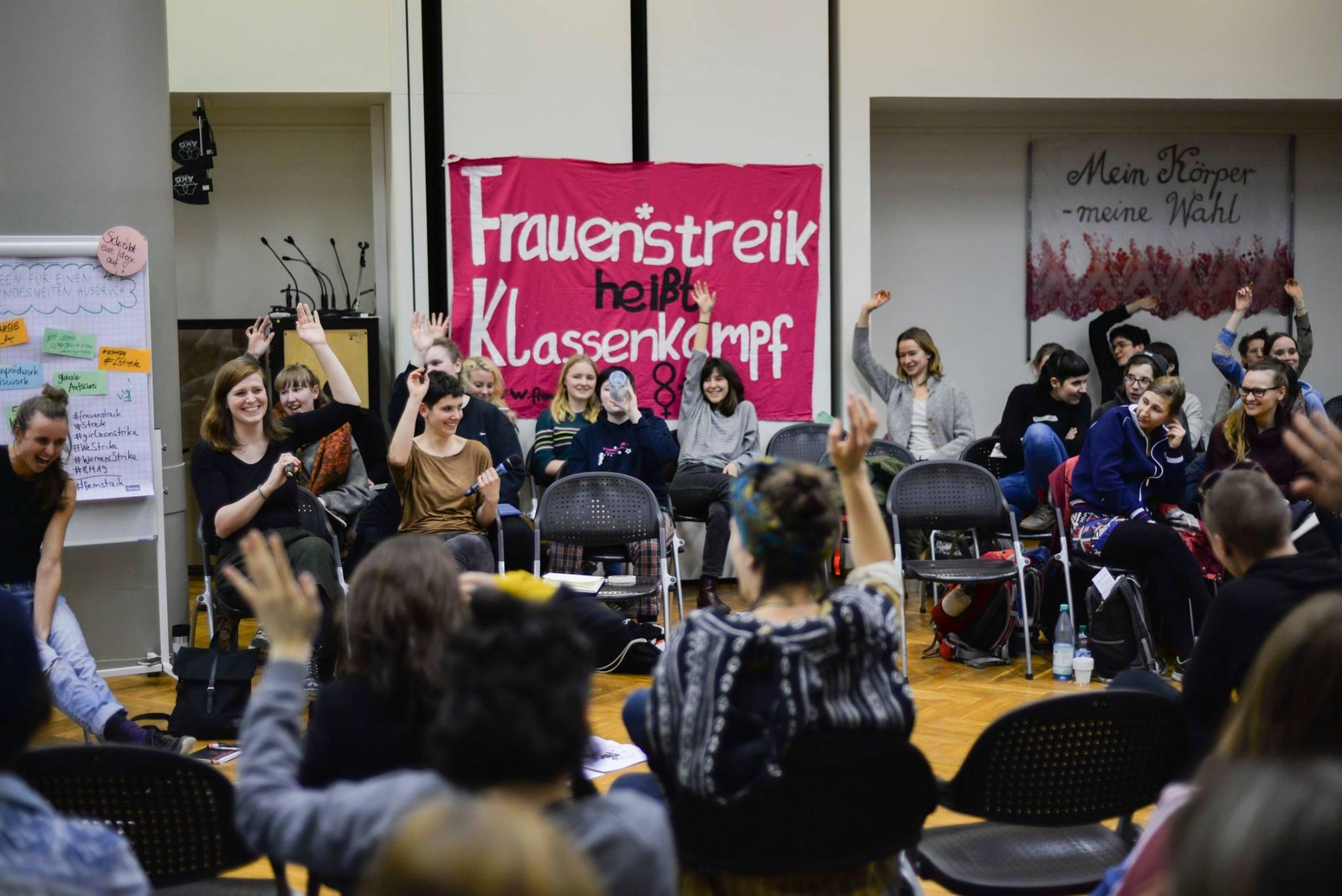 Zjazd dotyczący Strajku Kobiet* 15.-17.2.2019