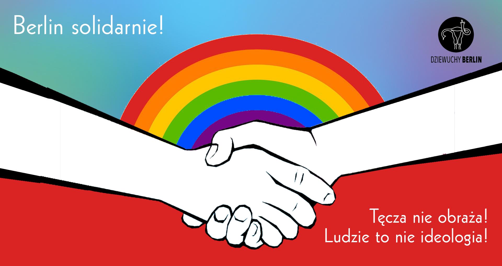 26.6.2021 Polski Blok LGBTQAI   Stern Demo Berlin  