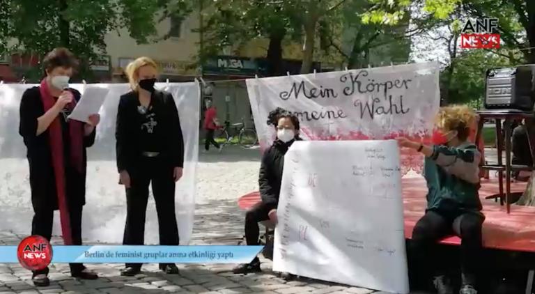 29.5.2021 Dziewuchy @ Aktionstag gegen Feminizide