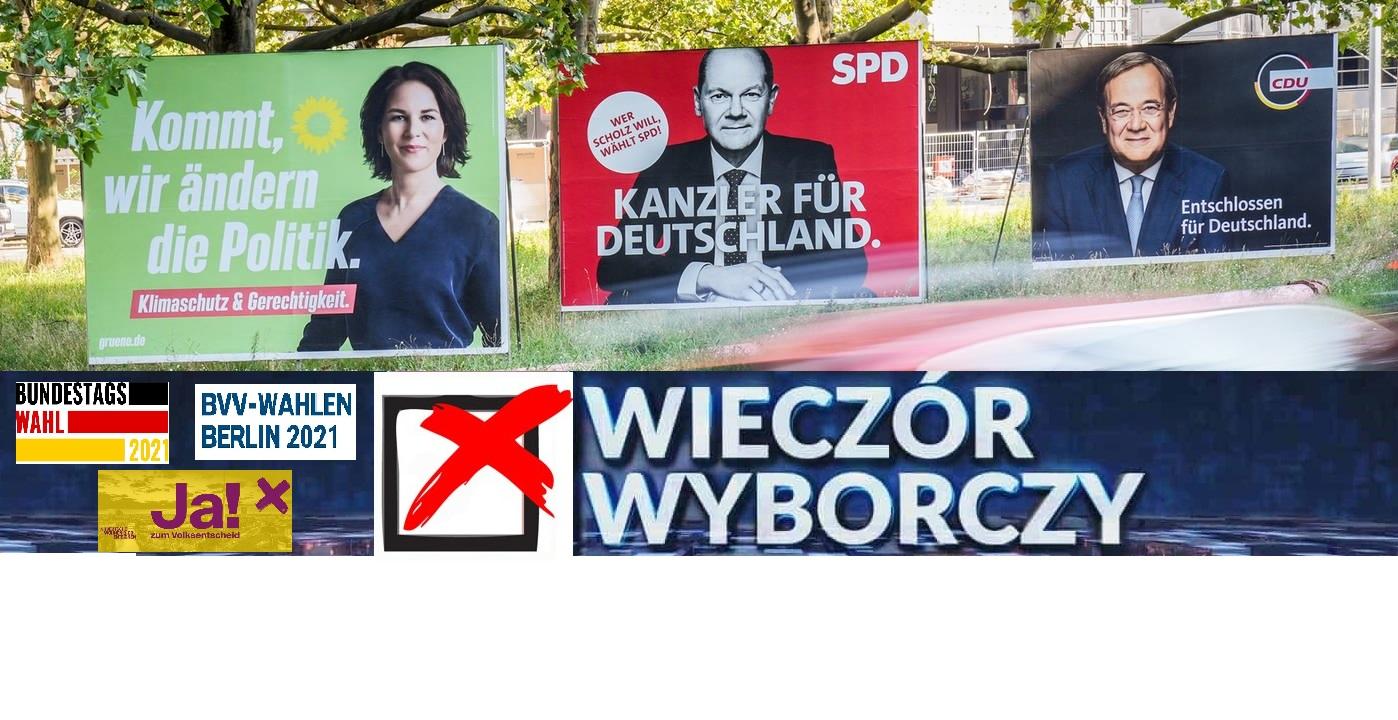 26.9.2021 Wieczór wyborczy / Wahlabend