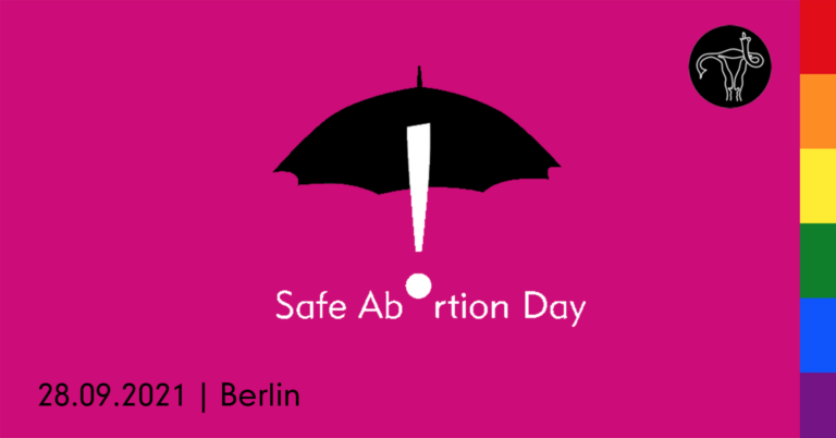 28.9.2021 DEMO: Safe Abortion Day